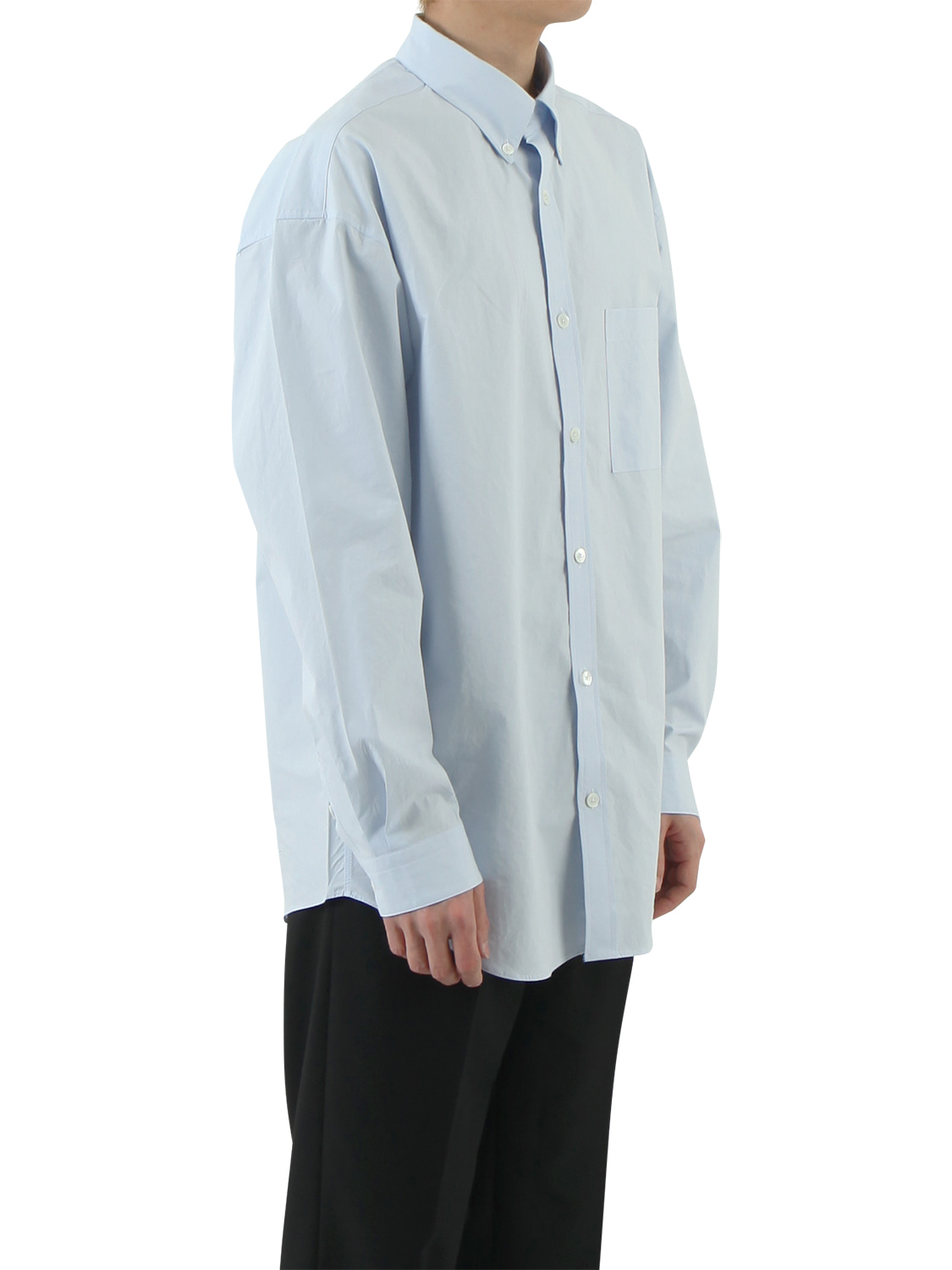 Oversize Comfort Shirts _ skyblue