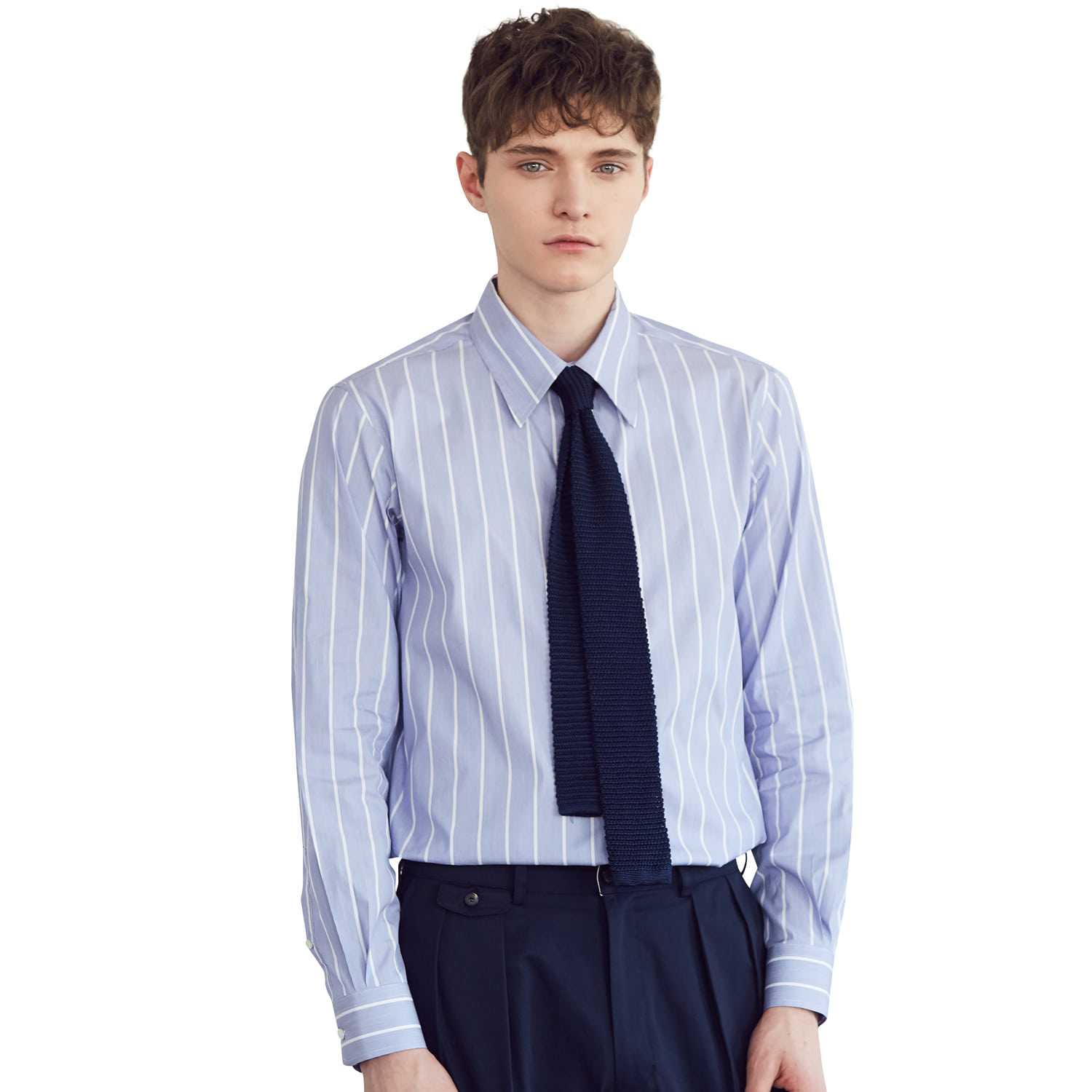 Stripe Shirts _ Blue