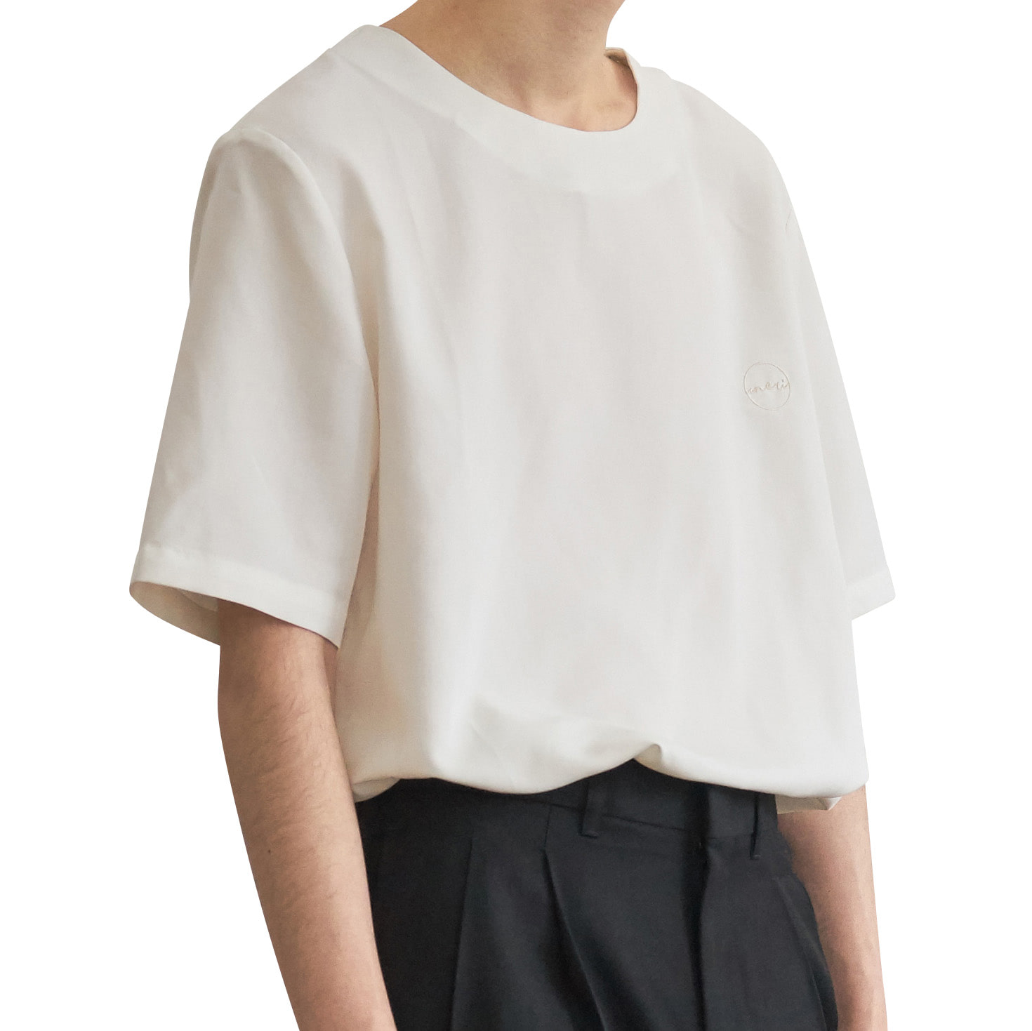 Tencel Tunic Shirts _ offwhite