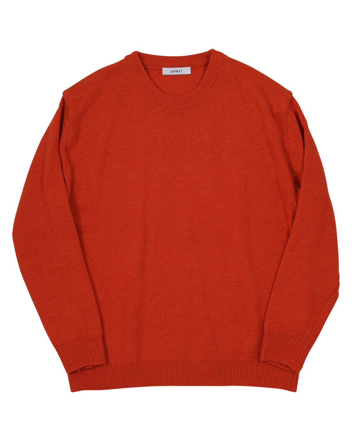 Relaxed Wool Knit _ orange