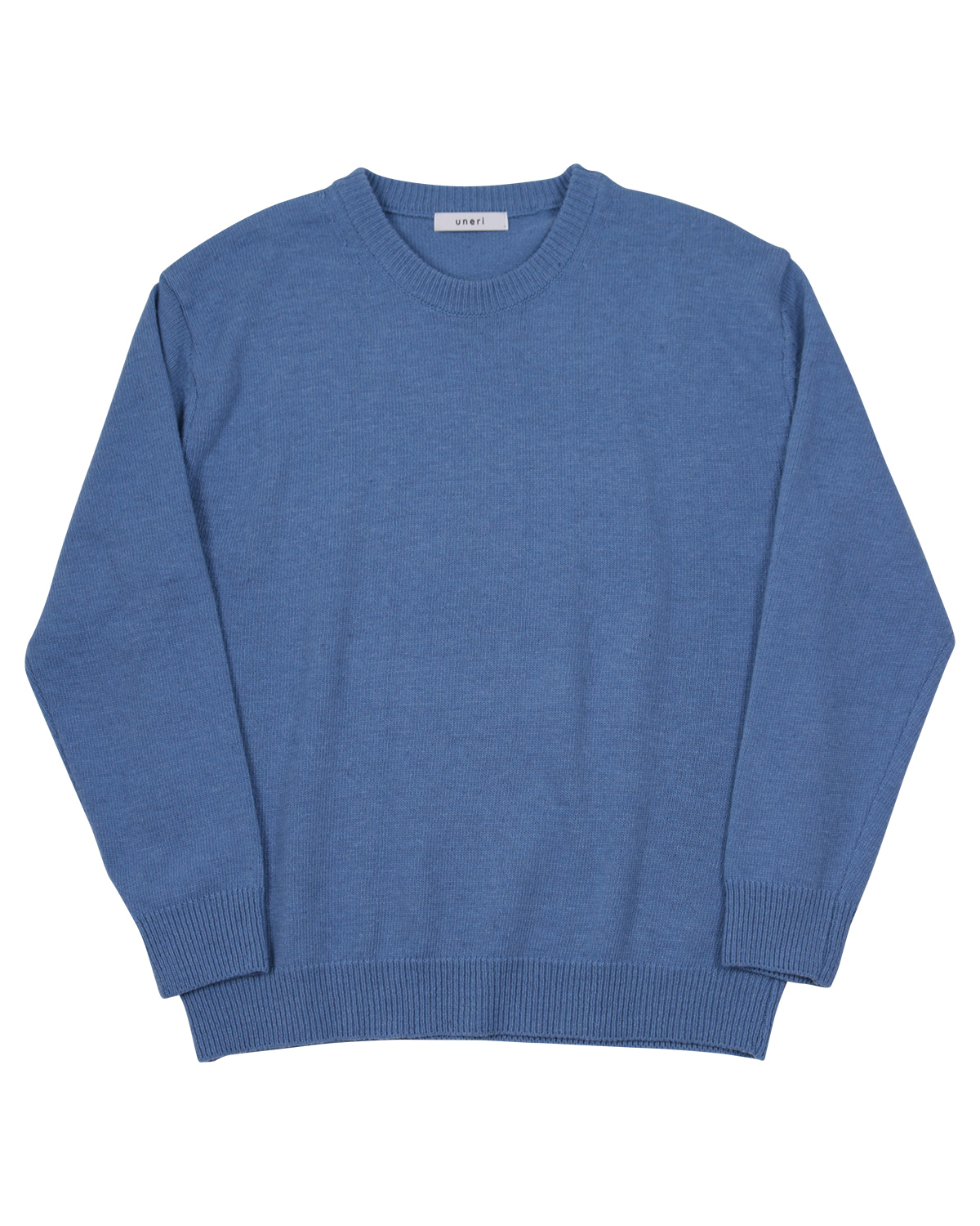 Relaxed Wool Knit _ skyblue